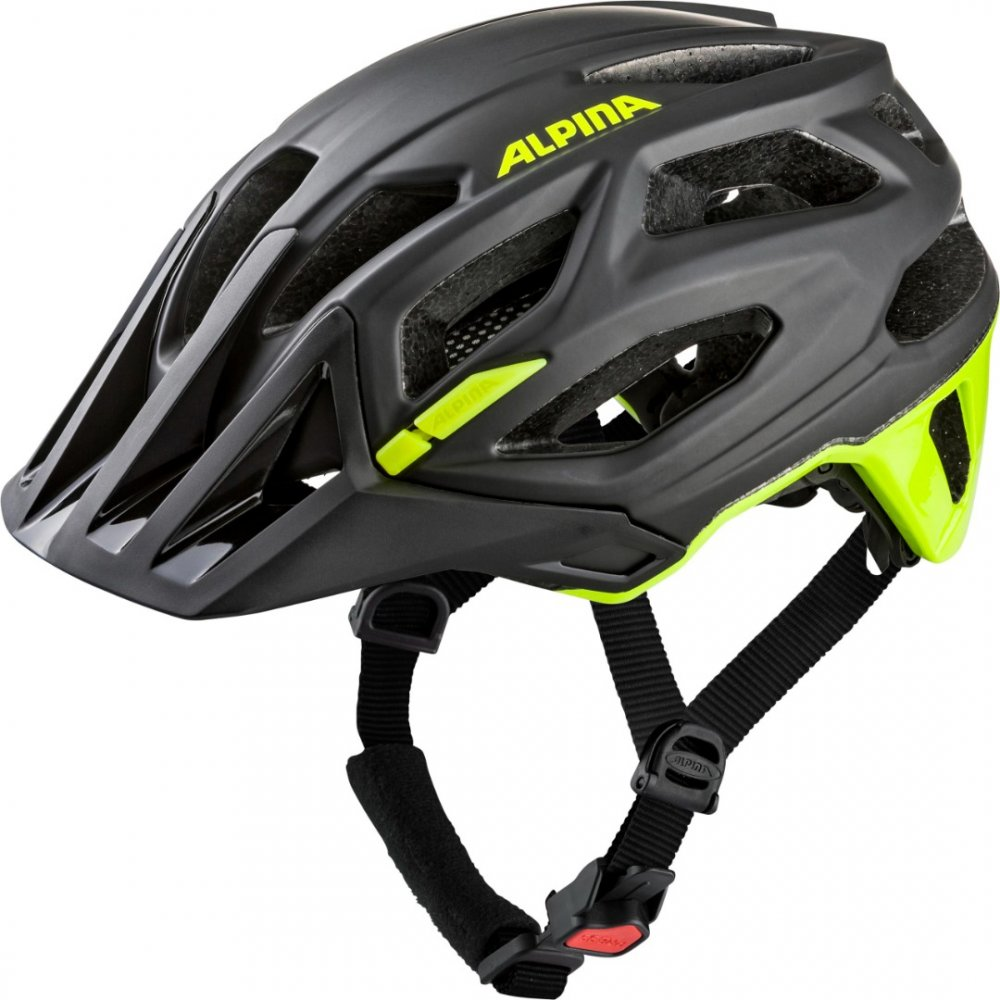 GARBANZO, black-neon yellow, 57-61